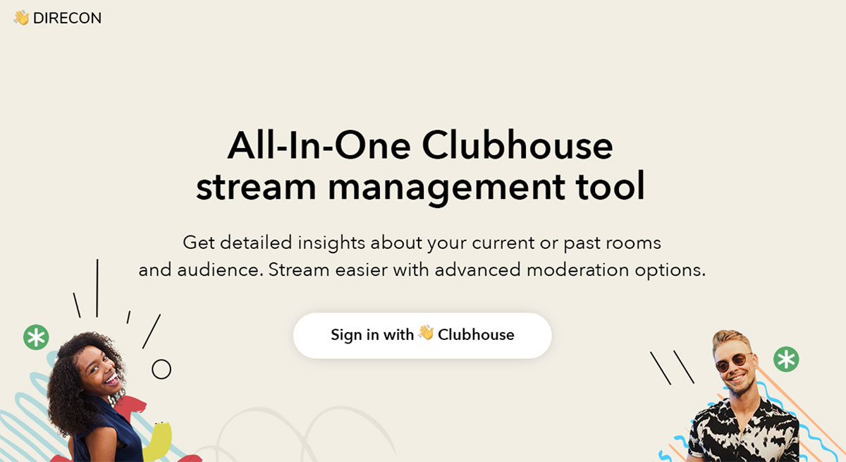 Outil Clubhouse : Direcon